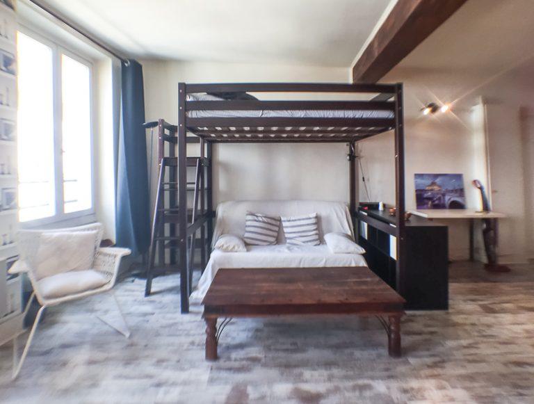 'LAPPE large studio mezzanine in lively Bastille