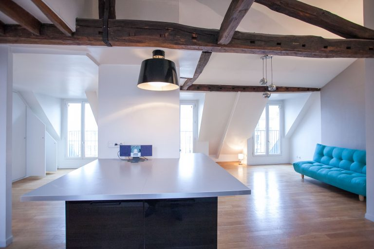 'Beaumarchais 2 Bedroom apartment