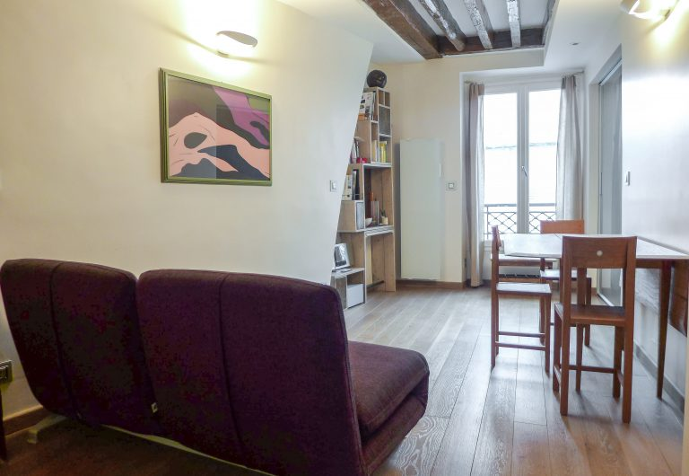 'SAINTONGE lovely 1 bedroom by architect top of Marais