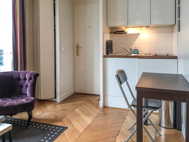 'CHERCHE MIDI charming studio steps from Bon Marché Mall and Rue de Rennes