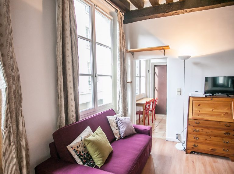 'FOURCY lovely nest in the heart of lively Marais