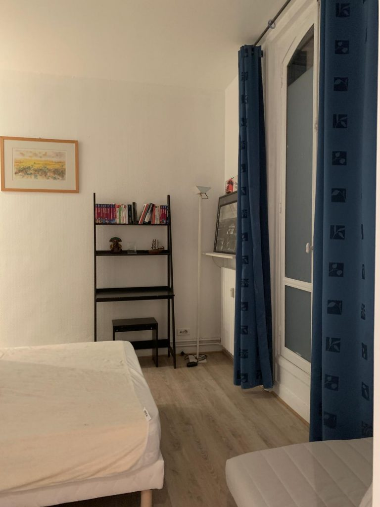 'Quai De la rapee Private Room with private bathroom & toilet